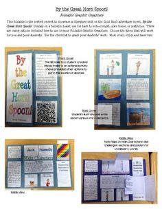 BY THE GREAT HORN SPOON! FOLDABLE GRAPHIC ORGANIZER BOOK PROJECT - TeachersPayTeachers.com