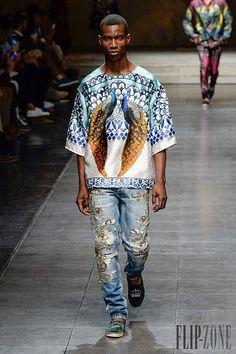 Dolce & Gabbana Spring-summer 2016 - Menswear