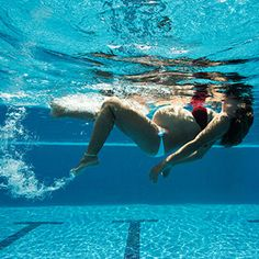 Swimming can be a welcome reprieve for pregnancy aches and pains and is in many ways the perfect pregnancy exercise. Here are the benefits of swimming during pregnancy, along with safety tips and suggested swim workouts. Pregnancy Running, Exercise During Pregnancy, Pregnancy Nutrition, Pregnancy Workout, Pregnancy Swim, Pregnancy Foods, Pregnancy Health, Swimming While Pregnant, Exercise For Pregnant Women