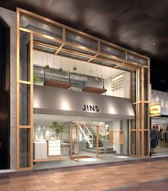 Discover ideas about retail facade. Design Garage, Shop Front Design, Store Design, Design Shop, D House, Shop House Plans, Facade Design, Exterior Design, Tables Shabby Chic