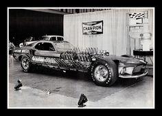 """Mach IV Mustang"" Drag Car, 1973"