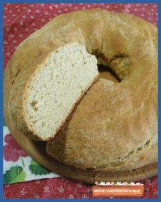 Ricetta ciambella di pane casareccio Recipe Sharing, Bagel, Bread, Recipes, Food, Brot, Essen, Baking, Eten