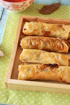veggie crispy spring rolls