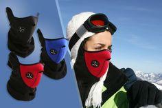 3 Thermal Neoprene Face & Neck Masks