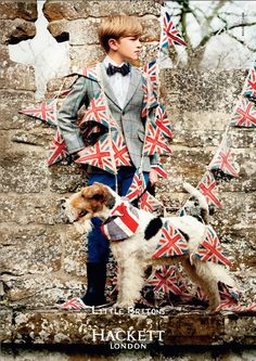 wire fox terrier and union jack bunting Fox Terriers, Chien Fox Terrier, Wirehaired Fox Terrier, Wire Fox Terrier, Wire Haired Terrier, Tommy Hilfiger, Union Jack, Puppy Love, Boy Outfits
