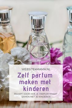 Make your own perfume with children - Vader- en Moederdag - Nice idea for a children& party with girls: making children& perfume. Beauty Tips For Teens, Beauty Tips For Hair, Beauty Make Up, Diy Beauty, Diy Projects For Kids, Diy For Kids, Crafts For Kids, Diy Crafts, Make Your Own