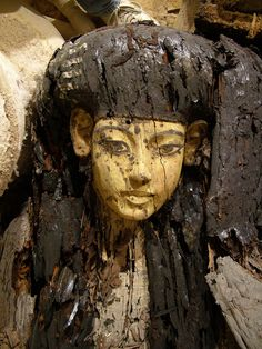 Egyptian coffin from tomb KV63, 1337-1334BC (image via: tv.com) Artemis: This was thought to be the coffin of Kiya Video: Search for Tut's Mother - Discovery Channel (dashboard: click box below for...