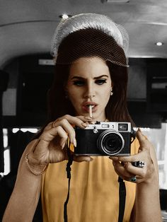"Lana ~ ""I'm missing the mark in terms of having comrades and being aligned with a musical movement. But I definitely feel like what I come up with musically is on the pulse of what is relevant."""