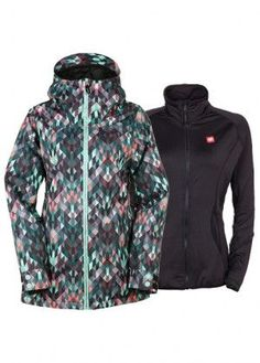686 Womens Authentic Smarty 3 In 1 Haven Jacket