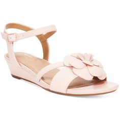 16bc4d694ba Clarks Artisan Women s Param Stella Flat Sandals ( 100) ❤ liked on Polyvore  featuring shoes