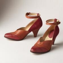 Our vintage-inspired, two-tone leather shoes are simply ravishing.