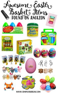 Making some Easter baskets this year? Make sure to check out this post and fill those baskets with a one-stop shopping trip to Amazon.