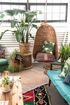 Sunny + Green corner in the studio | Patina