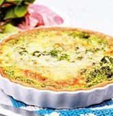 Grönkålspaj Swedish Recipes, New Recipes, Recipies, Swedish Foods, Lchf, Quiche, Nom Nom, Food And Drink, Vegetarian
