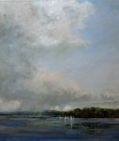 """""""A Summer Squall"""" Artist: Bethanne Kinsella Cople Another painting for my bedroom"""