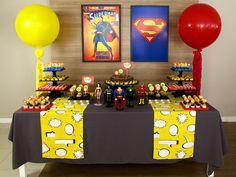 Com a nossa decoração de festa da Liga da Justiça, os convidados vão sentir como…