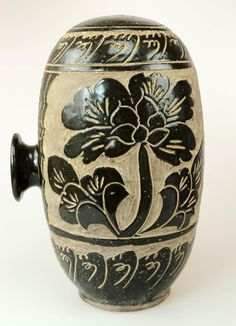 CHINESE XI XIA DYNASTY COCOON JAR. Antiques : 📍💠🏵🔹♨️ :More At FOSTERGINGER At Pinterest ♨️🔹🏵💠📍