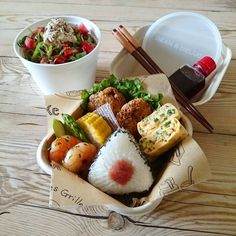 Cute Food, Good Food, Yummy Food, Bento Recipes, Cooking Recipes, Think Food, Le Diner, Aesthetic Food, Food Design