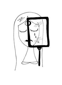 """Francesca Manuguerra's draw """"Bipolarità"""""""