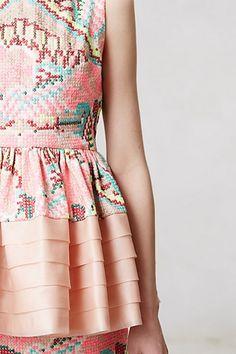 neeeeeeeed this dress! Anthropologie cross stitch