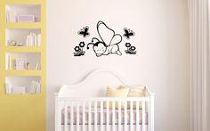 ¡Hola amigos! Os dejamos con un precioso vinilo infantil para bebes. Una simpática decoración que aportará alegría al ambiente de tus pequeños. ¡Visítanos y disfruta decorando! http://www.vinilosinfantiles.com/vinilos-animales/vinilo-infantil-animales-pequenas-mariposas-v2022.html