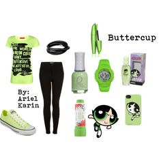 Powerpuff Girls: Buttercup by ariel-karin on Polyvore