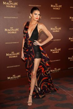 Kendall Jenner at the Magnum Doubles Party in Cannes 2016.