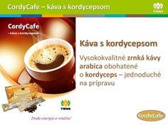 Tiens Cordycafe - káva + kalcium + kordyceps