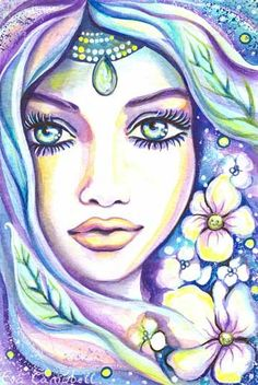 Fantasy Woman Face | EvitaWorks