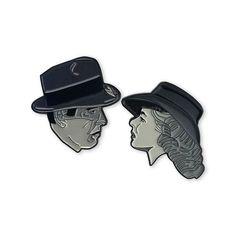 'Rick & Ilsa Casablanca' Pins (3 Options!)