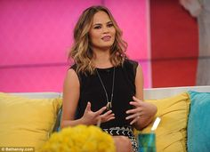 No natural swimsuit model! Chrissy Teigen appeared on the Bethenny show on Tuesday, where ...