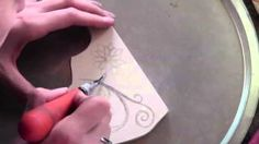 Stamp Carving Evolution, via YouTube. This is how an experienced carver does it!