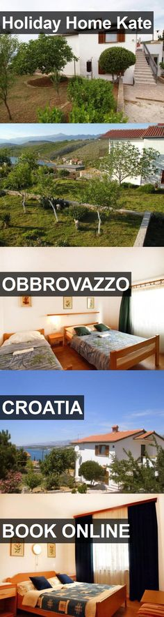 Hotel Holiday Home Kate in Obbrovazzo, Croatia. For more information, photos, reviews and best prices please follow the link. #Croatia #Obbrovazzo #travel #vacation #hotel