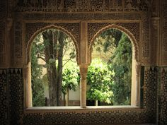 Balcony, Alhambra - by Christophe Cloud