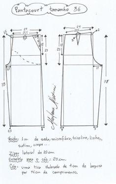 Pantalón Pantacourt T36