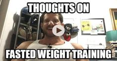 Earlier this week we were asked for our thoughts on FASTED weight training through our Facebook page. This is a great topic as we have a very firm take on FASTED versus FED cardio but weight training is a whole other game. We give you a lot of science behind our answer but as always do our best to simplify what the research says and how you can implement the info we present to you starting today! - - To watch this video simply click our bio link to be redirected to the YouTube video we…