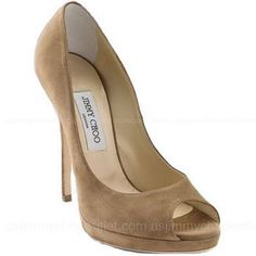 Jimmy Choo Quiet Platform Pumps -$169