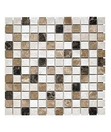 Expresso Marble Mosaic 2.4cm Tile