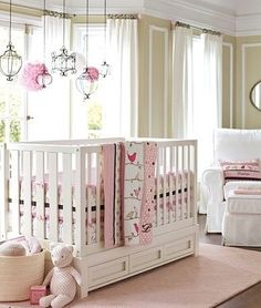 Nursery Designs and Lighting