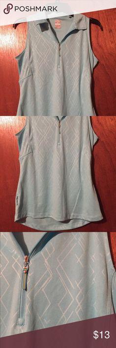 Selling this Size small light blue Calloway golf polo shirt on Poshmark! My username is: laura2564. #shopmycloset #poshmark #fashion #shopping #style #forsale #Calloway #Tops