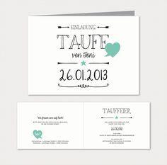 Schön Herzlichst   Schönes Auf Papier | Babykarten Black U0026 White | Einladung Zur  Taufe