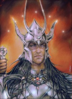 """Feanor by Venlian -  is one of the key characters of J.R.R. Tolkien's """"Silmarillion"""". Feanor is a Noldor King, the creator of Silmarills."""
