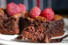 Upiecz mnie: Brownie z malinami (Brownies with framboises)