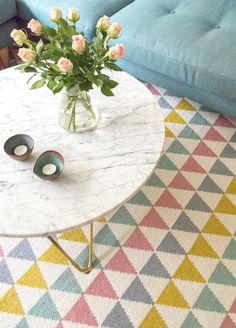 Tribus Multi - plastic rug by Lina Johansson Nordic Design, Scandinavian Design, Picnic Blanket, Outdoor Blanket, Teintes Pastel, Pot A Crayon, Unique Poster, Deco Design, Decoration