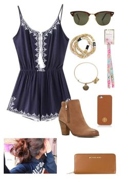 by gabbbsss on Polyvore featuring ALDO, MICHAEL Michael Kors, Alex and Ani, Lilly Pulitzer, Tory Burch and Rayban