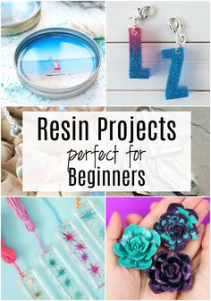 Fabulous Beginner Resin Projects to Try - Resin projects that are perfect for beginners (or resin crafters of any experience level! Diy Resin Projects, Diy Resin Art, Epoxy Resin Art, Diy Resin Crafts, Diy Epoxy, Easy Diy Crafts, Crafts To Make, Craft Projects, Projects To Try