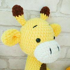 AMIGURUMI Giraffe pattern - Crochet giraffe toy PDF pattern - Knit Stuffed Toys for baby - Plush Giraffe pattern - Crochet animal pattern Crochet Giraffe Pattern, Crochet Animal Patterns, Plush Pattern, Bird Patterns, Crochet Patterns Amigurumi, Stuffed Animal Patterns, Knitting Patterns, Amigurumi Toys, Free Pattern