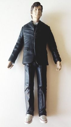 Dr Who David Tennant in BROWN Suit and White Plimsolls 10th Tenth Doctor 5'' | eBay Tenth Doctor, Doctor Who, Brown Suits, Police Box, Plimsolls, David Tennant, Dr Who, Ebay, Doctor Who Baby