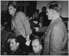 Doctor Hintermayer Identified as Nazi War Criminal, Dachau Trials, 1945 - HU036539 - Rights Managed - Stock Photo - Corbis
