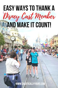 Show your gratitude to Disney Cast Members during your Disney World Vacation with these ways that will help get them recognized by their boss! Disney Vacation Club, Disney Vacation Planning, Disney World Planning, Walt Disney World Vacations, Disney Cruise Line, Disney Travel, Disneyland Vacations, Orlando Vacation, Vacation Ideas